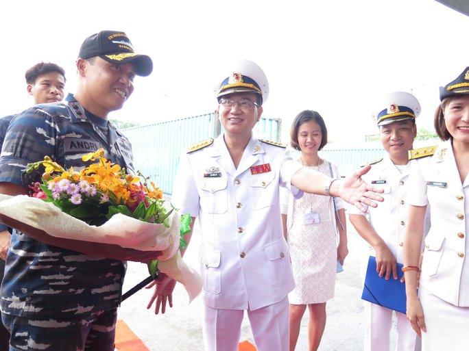 TP HCM đón cùng lúc 2 tàu quân sự Indonesia - Ảnh 5.