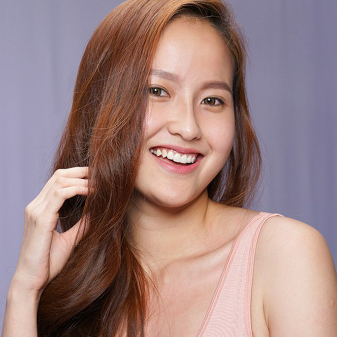 Vẻ đẹp không son phấn của Hoa hậu Hoàn cầu Khánh Ngân - Ảnh 6.