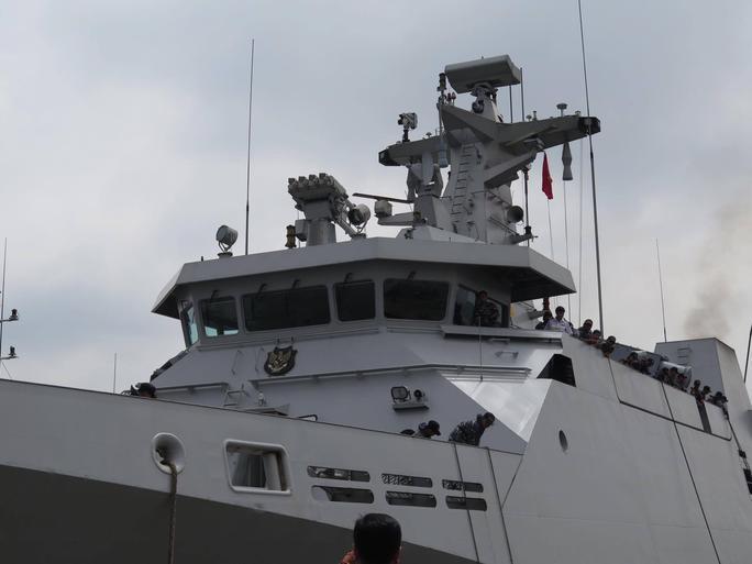 TP HCM đón cùng lúc 2 tàu quân sự Indonesia - Ảnh 7.