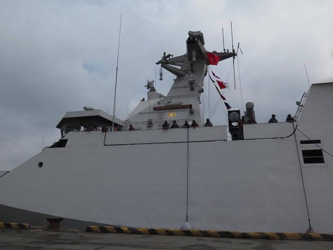 TP HCM đón cùng lúc 2 tàu quân sự Indonesia - Ảnh 8.
