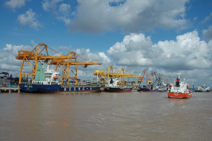 Từ ngày 1-1-2017, hàng hóa qua các cảng ở Hải Phòng phải đóng thêm phí hạ tầng cảng biển
