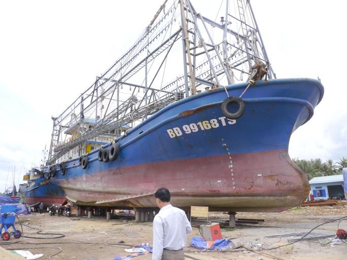 Giám sát chặt việc sửa tàu vỏ thép - Ảnh 1.