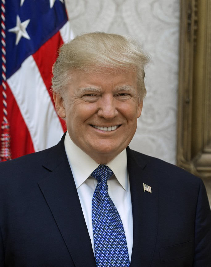 president trump official portrait