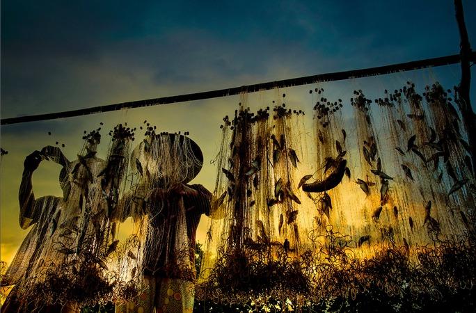 Những hình ảnh tuyệt đẹp về mưu sinh mùa nước nổi ở miền Tây - Ảnh 8.