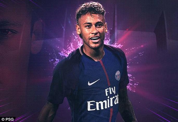 Neymar chính thức gia nhập PSG với giá kỷ lục - Ảnh 4.