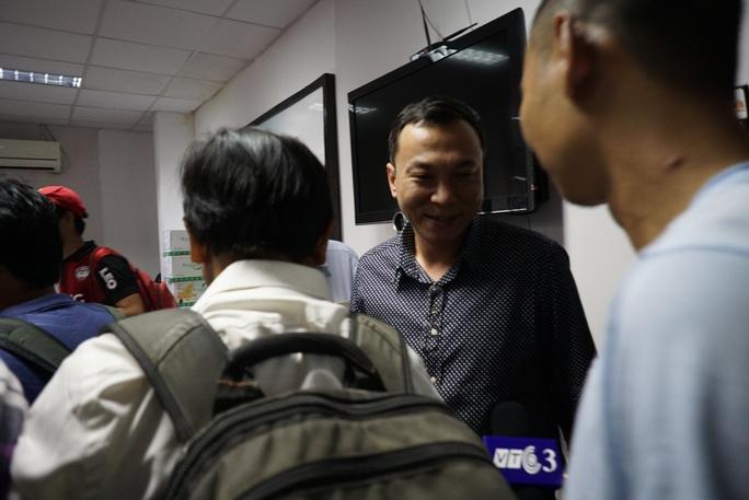 Đại diện VFF - ông Trần Quốc Tuấn