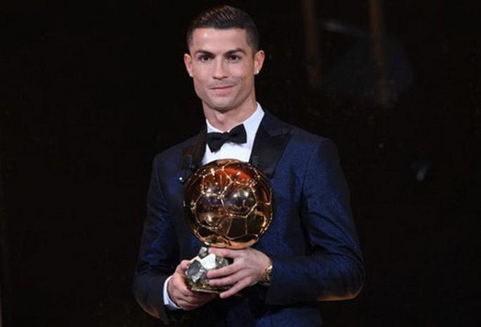 Vượt Messi và Neymar, Ronaldo đoạt Quả bóng vàng 2017 - Ảnh 3.