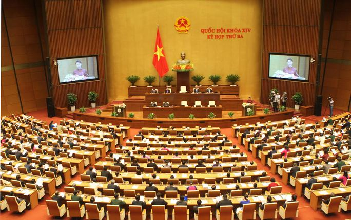 Bộ trưởng Nguyễn Thị Kim Tiến đăng đàn trả lời chất vấn - Ảnh 1.