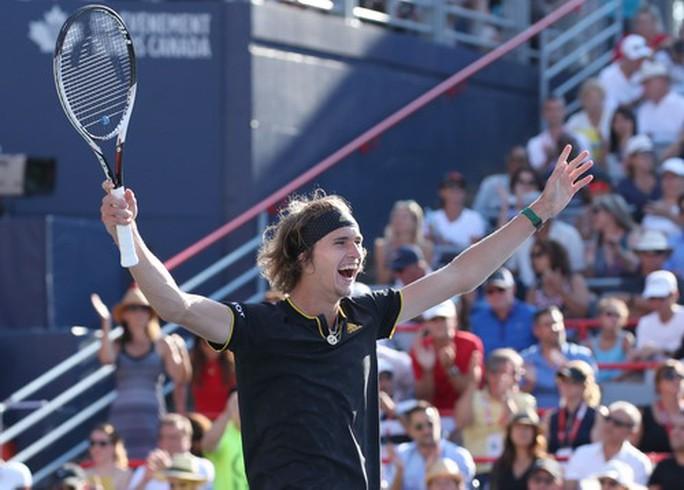 Hạ tượng đài Federer, sao trẻ Zverev đăng quang Rogers Cup - Ảnh 3.
