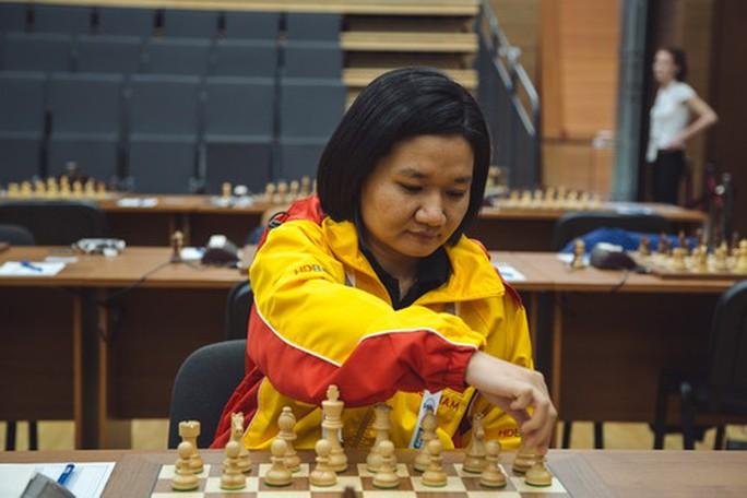 Cờ vua nữ Việt Nam thắng trận thứ nhì ở giải thế giới - Ảnh 1.