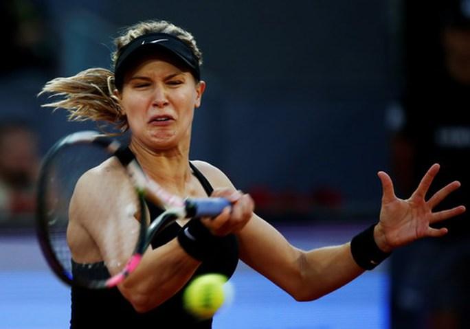 Kiều nữ Bouchard loại số 2 thế giới tại Madrid Open - Ảnh 1.