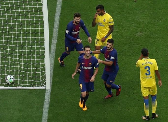 Nou Camp không khán giả, Barcelona đè bẹp Las Palmas - Ảnh 3.