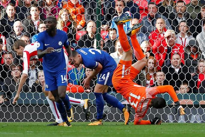 Morata lập hat-trick, Chelsea hạ đẹp Stoke  - Ảnh 4.