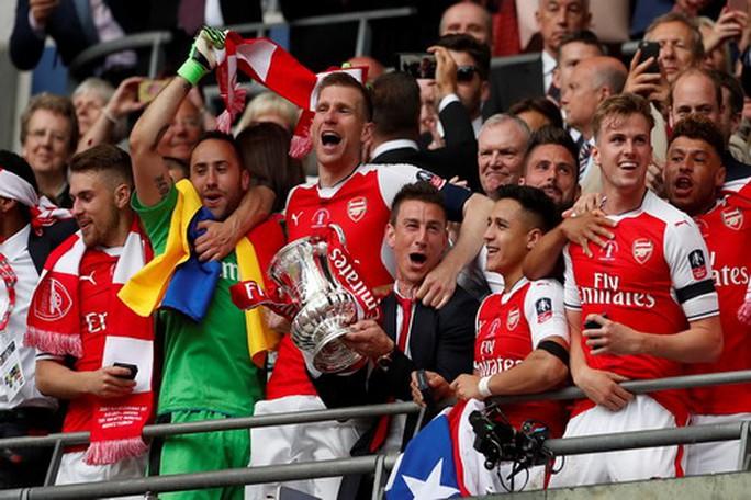 Arsenal vô địch FA Cup: Chiến thắng của lòng quả cảm - Ảnh 8.