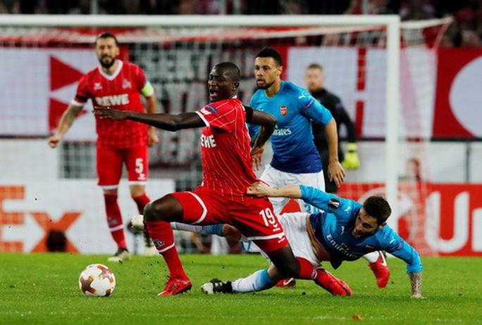 Arsenal, Everton đại bại ở Europa League - Ảnh 3.