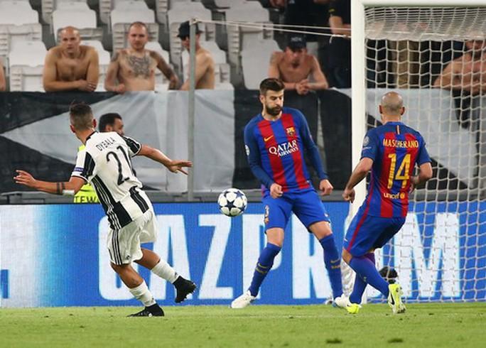 Lập cú đúp, Dybala trở thành nỗi ám ảnh với hàng thủ Barcelona