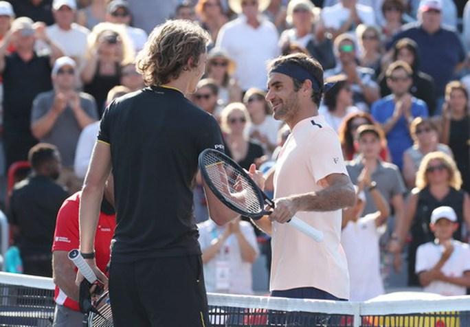 Hạ tượng đài Federer, sao trẻ Zverev đăng quang Rogers Cup - Ảnh 4.
