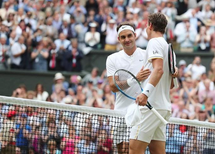 Hạ Berdych, Federer lần thứ 11 vào chung kết Wimbledon - Ảnh 4.
