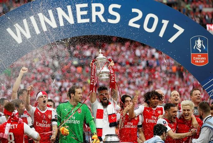 Arsenal vô địch FA Cup: Chiến thắng của lòng quả cảm - Ảnh 10.