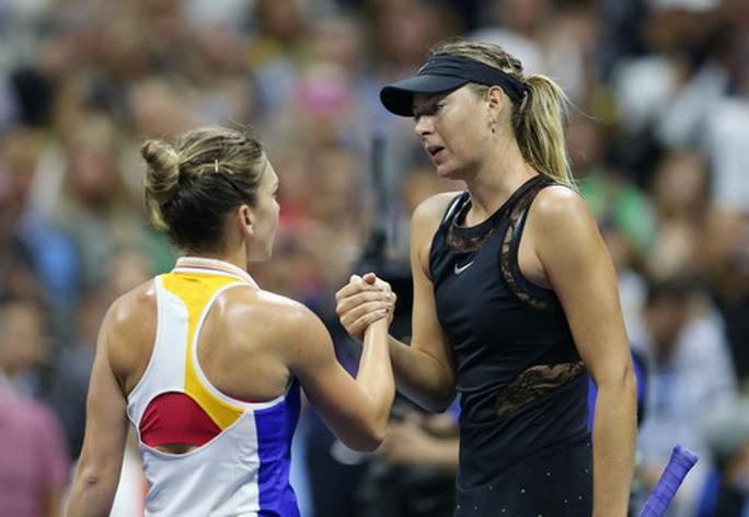 Hạ số 2 thế giới Simona Halep, Sharapova tạo địa chấn ở New York - Ảnh 6.