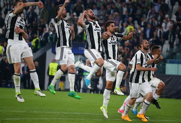Niềm vui chiến thắng của Juventus