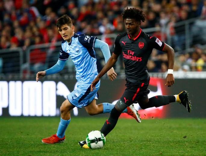 Tân binh Lacazette nổ súng, Arsenal đại thắng ở Sydney - Ảnh 3.