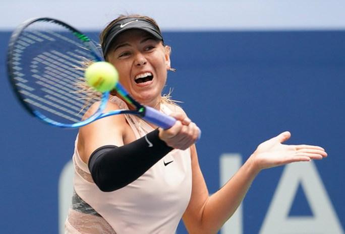 Búp bê Sharapova chia tay giải Mỹ mở rộng - Ảnh 2.