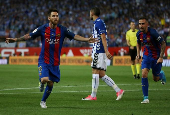 Messi lập đại công, Barcelona vô địch Cúp Nhà vua - Ảnh 4.