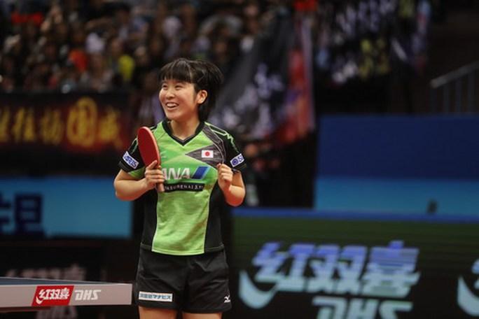 Tân vô địch châu Á 17 tuổi Miu Hirano