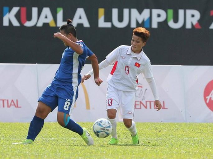 Ghi 3 bàn những phút cuối, nữ Việt Nam thắng đậm Philippines - Ảnh 6.