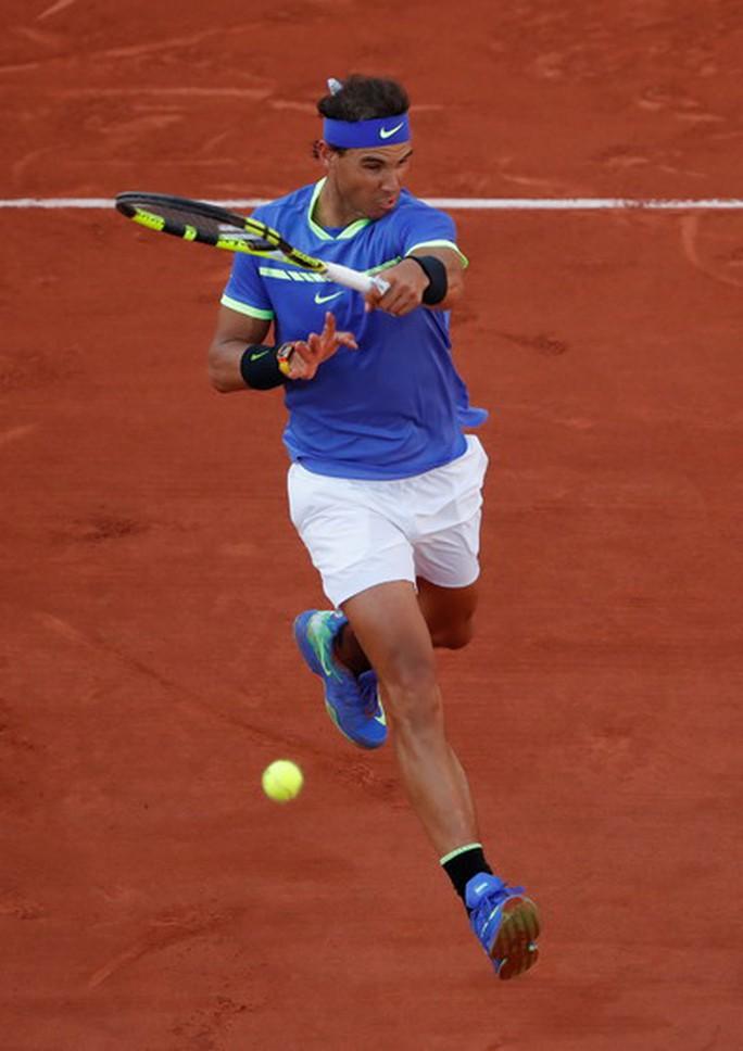 Vua Nadal thắng tốc hành, lần thứ 10 vào chung kết Roland Garros - Ảnh 3.