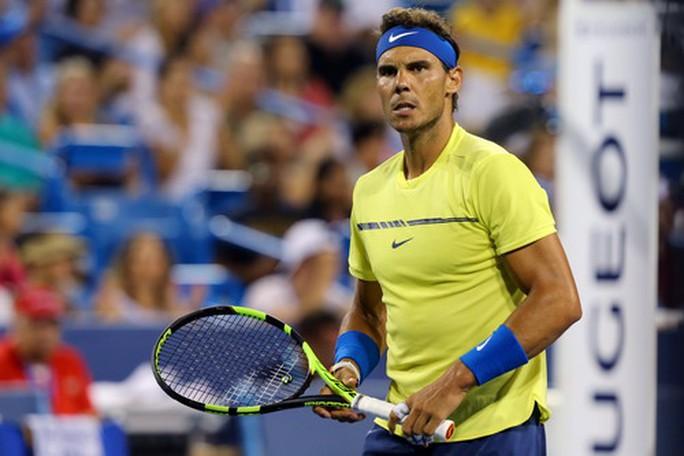 Thời tiết hại Nadal, số 1 thế giới gục ngã trước Kyrgios - Ảnh 1.