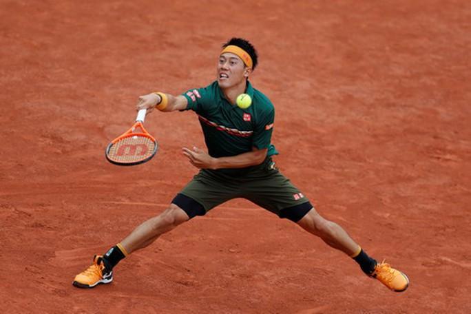 Nishikori chống chọi với chấn thương để dự Roland Garros