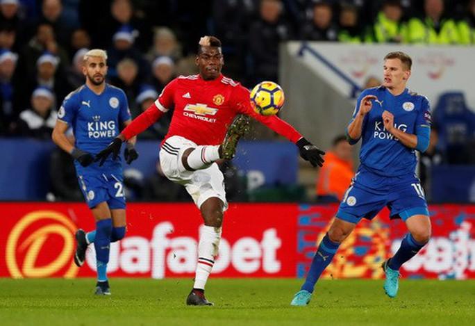 Thủng lưới phút bù giờ, Man United ôm hận với Leicester - Ảnh 3.