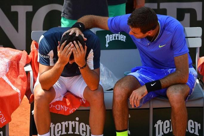 Khoảnh khắc Del Potro đốn tim khán giả Roland Garros - Ảnh 2.