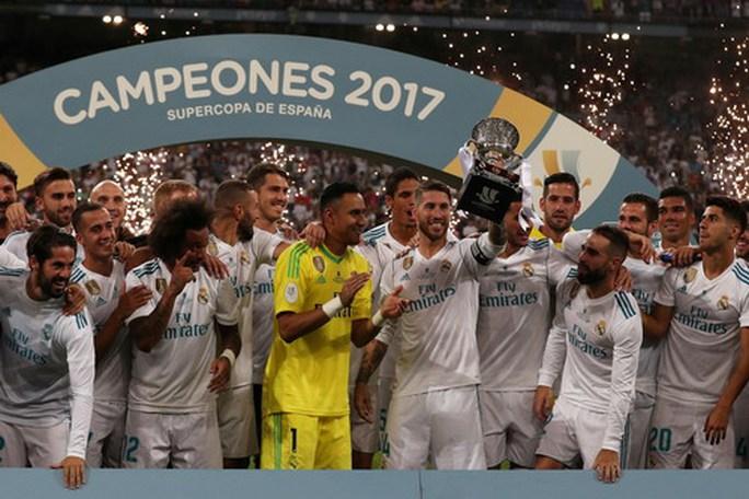 Real Madrid đè bẹp Barcelona, giành siêu cúp - Ảnh 8.