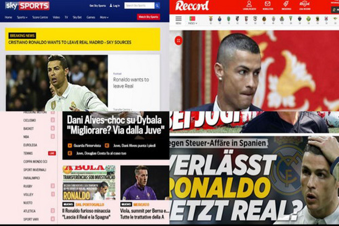Lộ điểm đến của Ronaldo sau khi chia tay Real Madrid - Ảnh 1.