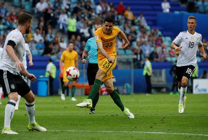 Mưa bàn thắng ở Sochi, xe tăng Đức hạ gục Socceroos - Ảnh 4.