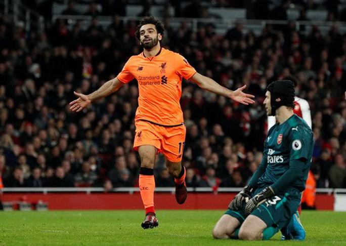Ngược dòng điên rồ, Arsenal chia điểm Liverpool ở Emirates - Ảnh 4.