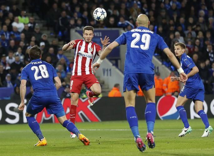 Saul Niguez mở tỉ số, dập tắt tham vọng của Leicester