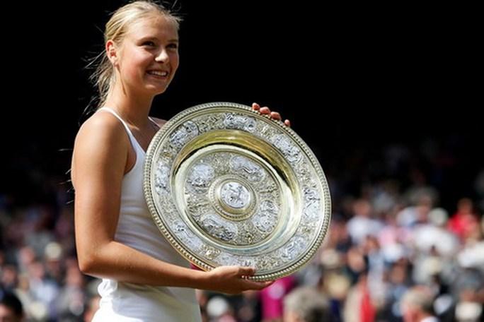 Wimbledon sốt sớm với Maria Sharapova - Ảnh 3.