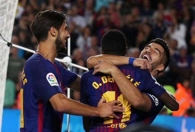 Messi lập hat-trick, Barcelona thắng đậm đại chiến Catalunya - Ảnh 5.