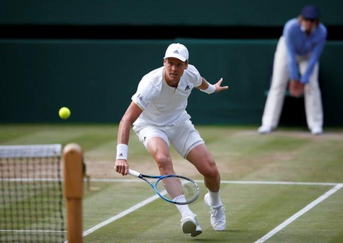 Hạ Berdych, Federer lần thứ 11 vào chung kết Wimbledon - Ảnh 2.