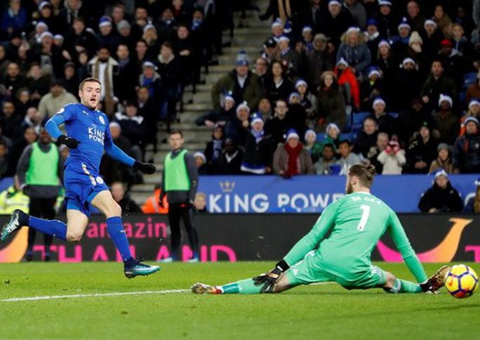 Thủng lưới phút bù giờ, Man United ôm hận với Leicester - Ảnh 4.