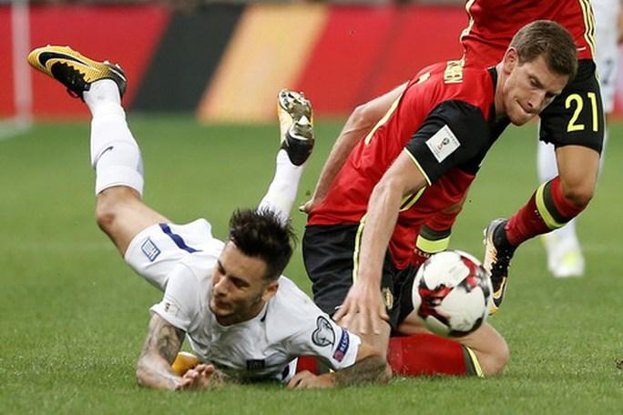 Bỉ giành vé đến World Cup, Pháp bị cầm chân tại Paris - Ảnh 2.