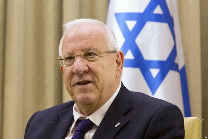 Tổng thống Israel Reuven Ruvi Rivlin - Ảnh: Cleveland Jewish News