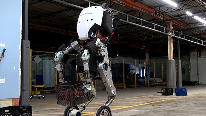 Robot Handle của Công ty Boston Dynamics Ảnh: BOSTON DYNAMICS