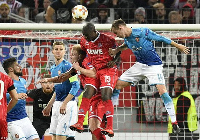 Arsenal, Everton đại bại ở Europa League - Ảnh 2.