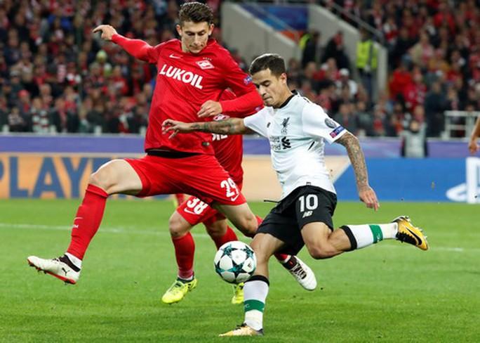Bộ tứ siêu đẳng Liverpool bất lực trước chủ nhà Spartak Moscow - Ảnh 4.