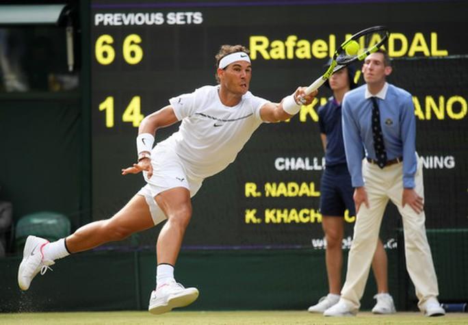 Nadal thắng nghẹt thở, Nishikori chia tay Wimbledon - Ảnh 3.